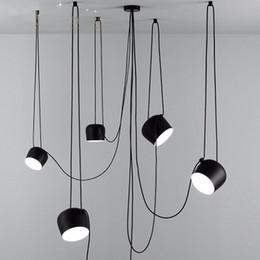 L97-Scandinavian tasarımcı postmodern basit yaratıcı kişilik restoran kolye lamba Amerikan endüstriyel stil kolye ışıkları cheap scandinavian lighting nereden iskandinav aydınlatma tedarikçiler