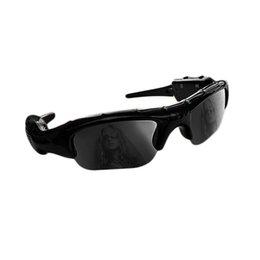 Et occhiali online-ET Wide Angle Occhiali da sole Videocamera Mini DV DV Videoregistratore Videocamere Sport Outdoor Supporto carta di TF per Driving Glasses