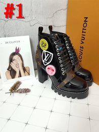 2019 каблуки Марка мода граффити лодыжки дождь сапоги женщины плоские каблуки Rainboots водонепроницаемый воды обувь женщина с коробкой скидка каблуки