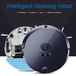 Wholesale Floor Sweepers - LookDream Remote Automatic Vacuum Cleaning Robot Affordable Smart Cleaner Easy Dust Sweeper Mop For Pet Hair Floor Hardwood By DHL