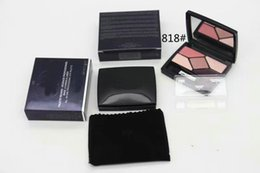 set di pennelli nudo Sconti New Brand 5 Color Eyeshadow Eye Shadow Makeup Make Up Tavolozza Eyeliner Makeup Set