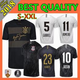 Size S-XXL 2018 Corinthian Paulista home Soccer Jersey 18 19 away CLAYTON  JADSON ROMERO PABLO M.GABRIEL MAYCON Brazilian 3RD Football Shirt c0caf4795