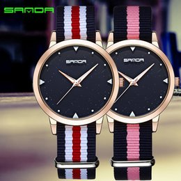 Кварцевый япон movt женщина смотреть онлайн-Japan Quartz Movt Men Simple Waterproof Fashion  Black Nylon Sport Casual Watches Men Women Unisex Wristwatch Dropshipping
