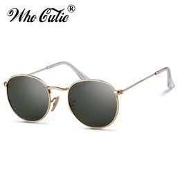 3ed75eb95b WHO CUTIE Men Polarized Sunglasses Round Frame Brand Designer 2019 Vintage  Mirror Lens Women Sun Glasses UV400 Ray Shades OM784