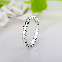 Wholesale Trail Wedding - whole saleHOMOD Star Trail Stackable Brand Finger Ring For Women Wedding Silver Color Jewelry 2017 New Xmas Gift