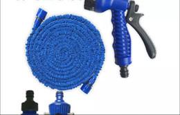 Tubo flessibile per irrigazione acqua da giardino 50 FT Tubo per pistola ad acqua Spray per fiori ed erba e lavaggio auto da