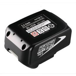 Reemplazo BL1830 3000mAh Batería recargable de la herramienta eléctrica de iones de litio para Makita 18V BL1830BSL1830 BSL1815X BTD140 Nuevo desde fabricantes