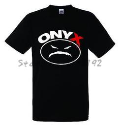 Wholesale Banded Onyx - ONYX LOGO men cotton T shirt Rock Band Shirt mens top tees 2017 new