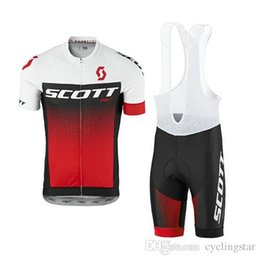 bicycle new style Promo Codes - 2018 NEW Scott Cycling jerseys Men's short style Racing bike Bicycle Clothing Set Pro Team Sport Bib Shorts Suit mtb Riding clothes N04