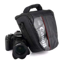 Impermeable DSLR De Hombro Cámara Caso Bolsa para Canon EOS 4000D 2000D 77D 7D MARKII