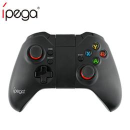 Controladores sem fio xbox pc on-line-IPEGA PG-9037 PG 9037 Sem Fio Gamepad Bluetooth Controlador de Jogo Titular Ajustável para Android / iOS Tablet PC Caixa de TV Smartphone