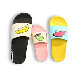 9765d4b66c8fe8 2018 Summer Women Slippers Fashion lovely Ladies Fruit jelly shoes Beach slippers  woman home bathroom shoes