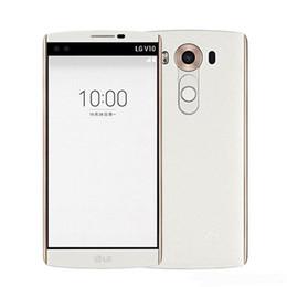 Original lg bluetooth online-Original Refurbished LG V10 H900 H901 5,7 Zoll Hexa Core 4 GB RAM 64 GB ROM 16MP Kamera LTE 4G WIFI GPS Bluetooth SmartPhone