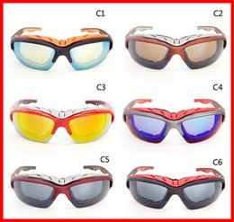 db80980ec026e 2018 new sports sunglasses men outdoor riding driving Anti-UV UV Grade  UV400 sunglasses 7 color optional wholesale DHL Free Shipping