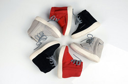 Wholesale Girls Red Boots Size 12 - 2018 New Kids 750 Boost Sneakers Boys And Girls Fashion Sports Boots With Box Size 38-35
