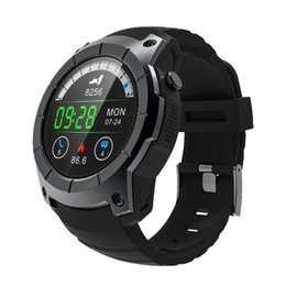Wholesale Apple Multi Monitor - New 2018 GPS SIM card Sports Watch S958 MTK2503 Heart rate monitor Real-time pressure multi-sport model smart watch for Android ios