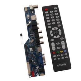 av ports tv Promotion V29 Universal LCD Board Board Board Carte mère TV VGA HDMI AV TV Ports USB