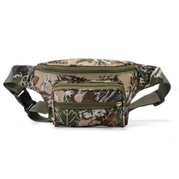 Fabricantes de marketing direto táticas cinto de corrida camuflagem saco da cintura homens e mulheres ao ar livre esportes de lazer mochila telefone móvel de moda de