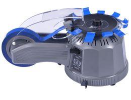 Distributore automatico di nastro ZCUT-2 220V / 110V macchina dosatrice per taglio adesivo Disco gommato giradischi in tessuto Taglia nastro doppio automatico da