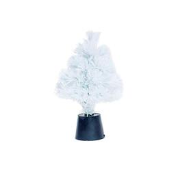 Ha portato gli alberi di simulazione online-30 cm simulazione di Natale alberi di Natale LED artificiale mini albero di Natale desktop piccolo decorazione di natale forniture (bianco)