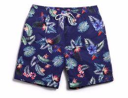 2019 mens floral bordo shorts Shorts Board verão Esportes Dos Homens Da Marinha Swimmimg Azul Shorts Swimwear Swim Maiô Mens Surf Board Curtas Corredores A4 mens floral bordo shorts barato