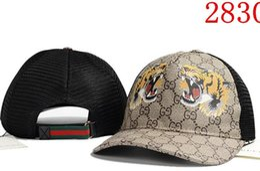 Wholesale hat designs for women - high quality design 100% Cotton Luxury Caps Embroidery hats for men women Fashion snapback baseball cap golf visor gorras bone casquette hat
