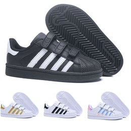 dorp Verschiffen 10 Farben Superstar Adidas Fashion Big Kids Jungen und Mädchen Schuhe Turnschuhe Casual Sport Leder Schuh
