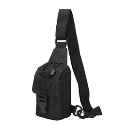 sling packs Promo Codes - Adjustable Crossbody Bag Sling Oxford Bag Chest Pack Shoulder Bags Easy To Carry Daypack Mobile Phone For Riding Travel