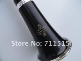 Crampon Cie Clarinete 1986 E13 Sandalwood Ebony Tubo B Clarinete Plana Instrumentos Musicais Com 16 Furos Fechados + 10 Palhetas + Caso de