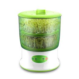 Интеллектуальные ростки фасоли чайник бытовые обновления большой емкости термостат зеленые семена растет автоматическая машина прорастания ЕС от Поставщики ростки семян
