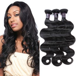 Wholesale Bodywave Hair Weave - Ishow Human Hair 8A Unprocessed 3PCS Brazilian BodyWave Hair Weft Wholesale Cheap Peruvian Indian Malaysian Hair Extensions Free Shipping