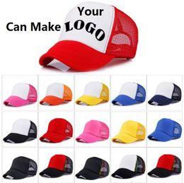1e791c42ff1 14 colors Trucker Cap Adult Mesh Caps Blank Trucker Hats Snapback Hats  Accept Custom Made Logo b1530-2