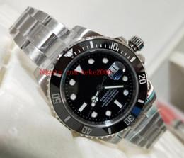 reloj de lujo para hombre sub Rebajas Lujo Excelente reloj para hombre N Factory V5 SUB 116610 116610LN 40mm Negro Dial Acero inoxidable Asia 2813 Movimiento automático Relojes para hombre