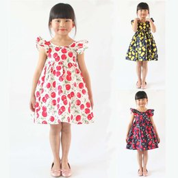 4ed853d05c66f Baby Girls Dresses 12 Months -7 Years Old Girls Summer Dresses Flower Girl  Dresses Tutu Dress Kids Clothing LA660 12 year old clothes for sale