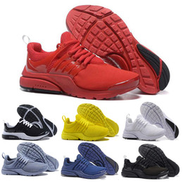Wholesale classic essentials - Classic Presto ESSENTIAL Men Women Sneaker Tripel Black White yellow red Running Shoes mens sports shoes athletic Jogging shoes size 36-45