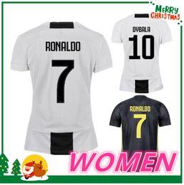 las mujeres 18 19 Juventus RONALDO DYBALA HIGUAIN POGBA camiseta de fútbol  2018 2019 Italia juve MARCHISIO MANDZUKIC BUFFON casa lejos 3ra camisa  camisa de ... 553cc7c10d099
