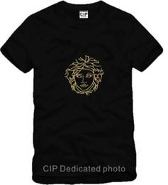 Wholesale Hip Cm - 2018 Brand Fashion Head print cotton short sleeve hip-hop t-shirt 90-150cm
