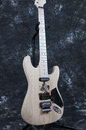 2019 kits de guitares électriques Livraison gratuiteInstock Starshine SR-LST-017 Eddie Van Halen Franken Guitare électrique inachevée, Kits de guitares, Guitare électrique Diy Body ASH kits de guitares électriques pas cher