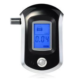 Analyseur d'haleine numérique lcd en Ligne-Détecteur AT6000 d'analyseur d'analyseur d'alcool de testeur d'haleine d'alcootest de police de police d'affichage à cristaux liquides