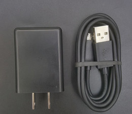 Wholesale Usb Device Chargers - Wall Charger for Droid Turbo Turbo 2 Maxx Maxx 2 Ultra Nexus 6 Moto G3 G4 G5 X Micro-USB devices - Black
