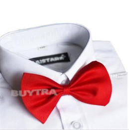 Cravatta nera rossa online-Cravatta rossa per bambini. Cravatta per bambini