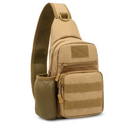 Wholesale Backpack Military Molle Tactical - Silanda Sports 800D Outdoor Sports Bag Shoulder Tactical Sling Military Molle Army Utility Camping Hiking Trekking Messenger Bag