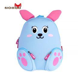 Wholesale Backpack Old School - NOHOO Little Kids Children's School Bags Backpacks 3D Cartoon Rabbit Small Backpack Toddler Baby Girls School for 2-4 Years Old