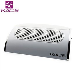 Wholesale Acrylic Red Nail Tips - KADS NEW 110V & 220V Nail Machine Nail Dust Suction Collector Manicure Filing Acrylic UV Gel Tip Machine Equipment
