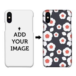 2019 telefone impresso 3d Faça o seu próprio projeto sublimação 3d impressão personalizada pc tampa traseira do telefone rígido case para iphone x 7 8 plus 6 s além de