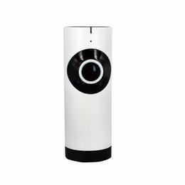 cámaras de zoom largo Rebajas 720 P 185 Grados Ojos de Pez Lente APP de Control Remoto Inalámbrico de visión completa wifi Cámara IP soporte de detección de movimiento tarjeta micro SD grabación de netwo