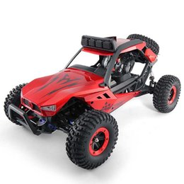 Wholesale rc 12 motor - 1:12 4WD High Speed RC Car Alloyed Body Monster Truck High-intensity Motor Off-road Vehicle Electric Racing Automobile Kids Gift