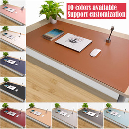 Wholesale Computer Desk Mats - pbpad store oversized double-sided mouse pad available Writing desk computer mousepad leather custom mats thickened desk pads