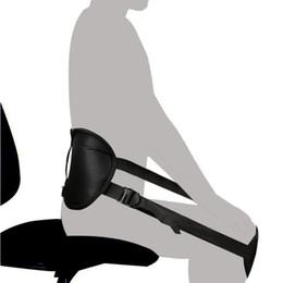 Cinto de postura correta de volta on-line-Portátil Voltar Almofada de Cinto de Suporte para Melhor Sentado Postura, Perfeito Corrigindo Cinta Ergonômico Protetor de Cintura para Lower Back Pain Relief