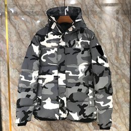 Camouflage GOOSE Down Warm Outdoor Sports Down Jacket Woman s High Quality Winter  Cold Outdoor Ski Park Coat HFLSJK182 819520be2